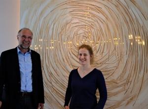 Die Seele im Blick: Konrad Kammandel und Julia Mikuda stehen Menschen bei, die zur Reha nach Bad Orb kommen. (Bild: Friedgen)